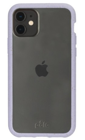 Pela Case pouzdro na iPhone 11 - Clear with Lavender Ridge