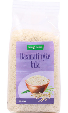 bio*nebio  Bio rýže basmati bílá