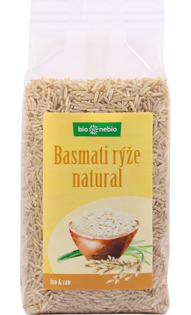 bio*nebio Bio rýže basmati natural 500 g