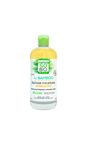 SO'BiO étic Dvoufázová micelární voda Pur BAMBOO