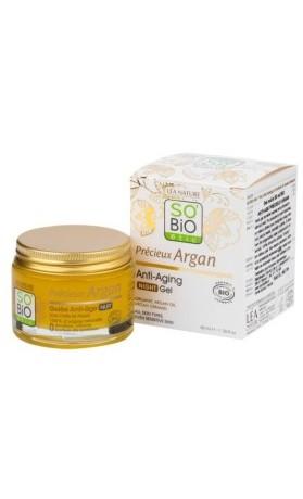 SO'BiO étic Anti-age Precieux Argan noční gel BIO