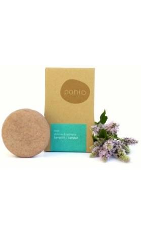Ponio Tuhý šampon s kondicionérem Mint - obnova & ochrana