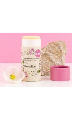 Kvitok Přírodní tuhý deodorant dámský - Ranní rosa