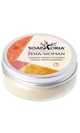 Soaphoria Žena, přírodní dámský květinový krémový deodorant