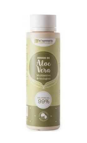 laSaponaria 99% Aloe vera gel na tělo a vlasy BIO