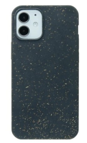 Pela Case Kompostovatelné pouzdro na iPhone 12 Mini - Black Slim