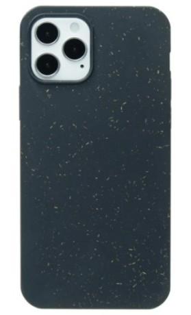 Pela Case Kompostovatelné pouzdro na iPhone 12/iPhone 12 Pro - Black Slim