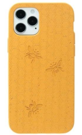 Kompostovatelný obal na iPhone 12/iPhone 12 Pro - Medová včelička PELA CASE