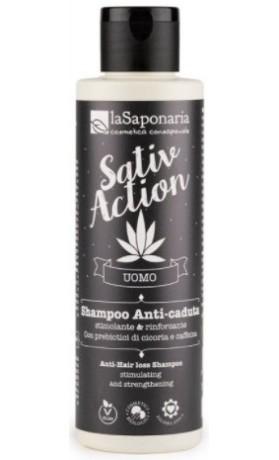 laSaponaria Šampon proti vypadávání vlasů pro pány BIO