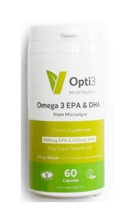 Vegetology Opti3 Omega - EPA a DHA s vitaminem D3
