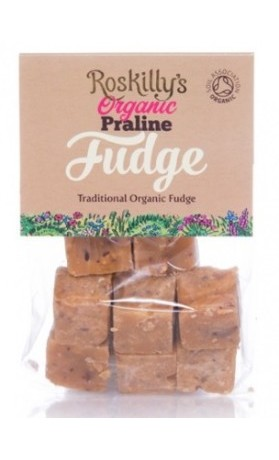 Roskilly´s Organic Fudge karamelky mandle a oříšek