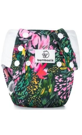 Bamboolik Tréninkové kalhotky vel. L Květy