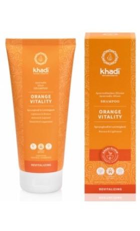 Khadi elixír šampon Pomeranč Vitalita