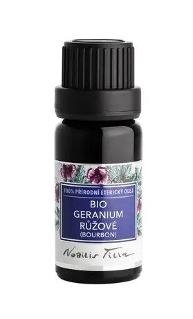 Nobilis Tilia Éterický olej bio Geranium růžové (bourbon)