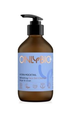 OnlyBio Osvěžující pleťový čisticí gel Hydra Mocktail