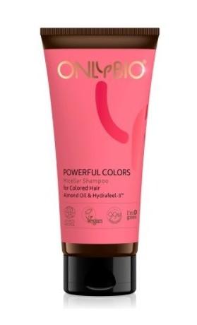 OnlyBio Micelární šampon na barvené vlasy Powerful Colors
