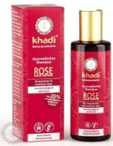 Khadi šampon RŮŽE reparační a hydratační