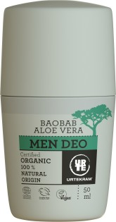 Urtekram Krémový deodorant pro muže s aloe a baobabem BIO