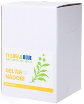 Yellow&Blue Gel na nádobí s vůní citrónu, bag-in-box