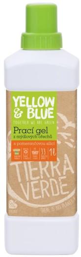 Yellow&Blue Prací gel z mýdlových ořechů s pomerančovou silicí