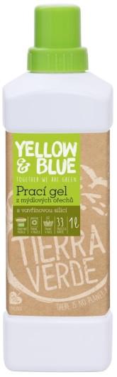 Yellow&Blue Prací gel z mýdlových ořechů se silicí vavřínu kubébového