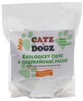 Catz&Dogz Max – univerzální čistič a odstraňovač pachů s pomerančovou vůní pro chovatele (zip sáček 1 kg)