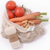 Casa Organica Síťový sáček z biobavlny na ovoce a zeleninu (38×30 cm)