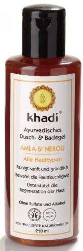 Khadi sprchový gel AMLA & NEROLI pro všechny typy pleti