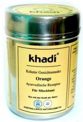 Khadi bylinná pleťová maska POMERANČ na smíšenou pleť