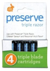 Preserve Náhradní břity Triple