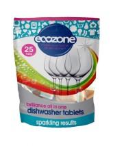 Ecozone Tablety do myčky Brilliance - vše v jednom