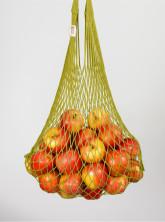 Česká síťovka Síťová taška bavlněná pružná - olivová