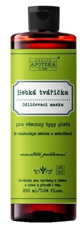 Havlíkova přírodní apotéka Hebká tvářička, odličovací maska pro všechny typy pleti