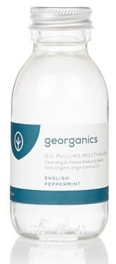 Georganics Ústní voda na olejové bázi - English Peppermint (anglická máta)