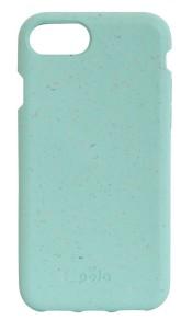 Pela Case Kompostovatelný obal na iPhone 6 / 6s / 7 / 8 - Ocean Turquoise