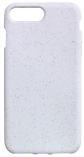 Pela Case Kompostovatelný obal na iPhone 6+ / 6s+ / 7+ / 8+ - White