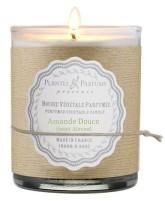 PLANTES & PARFUMS DE PROVENCE Řemeslně vyráběná sójová svíčka s vůní Sladká mandle 180 g