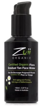 Zuii Organic Bio samoopalovací voda na obličej
