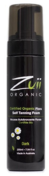 Zuii Organic Bio samoopalovací pěna Dark