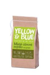 Yellow&Blue Mleté olivové mýdlo na praní, papírový sáček
