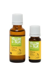 Yellow Blue Silice Citron