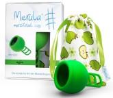 Merula Cup menstruační kalíšek pro ženy s nízkým čípkem - APPLE