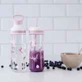 Equa Plastová lahev na pití BOUNCE 2in1 - 0.8 l