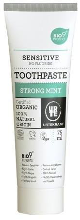 Urtekram Zubní pasta máta sensitive BIO, VEG