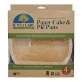 IF YOU CARE Papírová forma na dort a koláč 4 ks