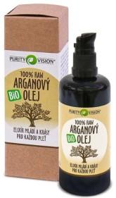 PURITY VISION Raw Arganový olej Bio velké balení