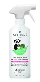Attitude Čistící prostředek na dětské povrchy/hračky bez vůně s rozprašovačem