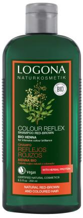 Logona Color Care BIO Šampon Henna na barvené vlasy pro červeno-hnědé odstíny