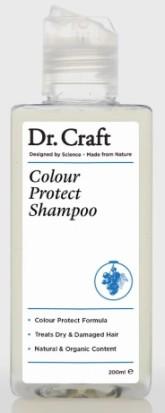 Dr. Craft Přírodní šampon na ochranu barvených vlasů