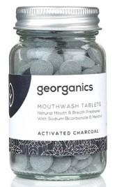 Georganics Tablety na osvěžení dechu - Actived Charcoal